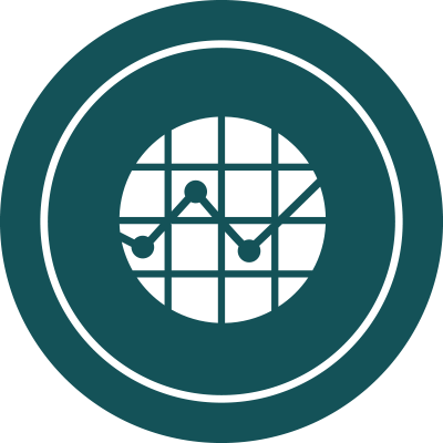 Business and investor support icon