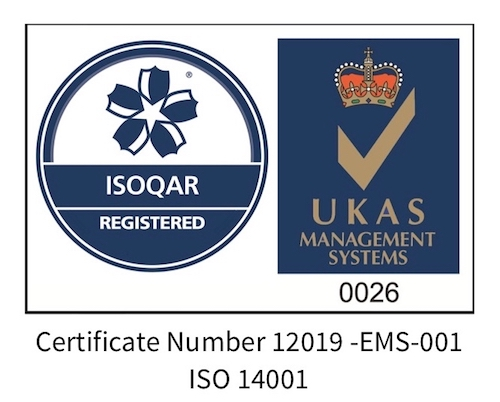 ISO 14001:2015 accreditation